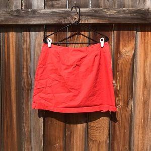Gap Stretch Coral Mini Skirt